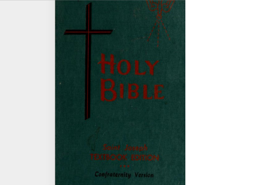 Confraternity Bible New Testament Free Pdf Download Download